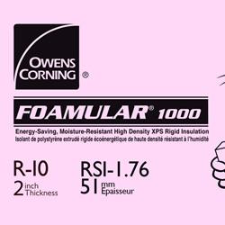 Foamular 174 1000 High Compressive Strength Rigid Foam Insulation